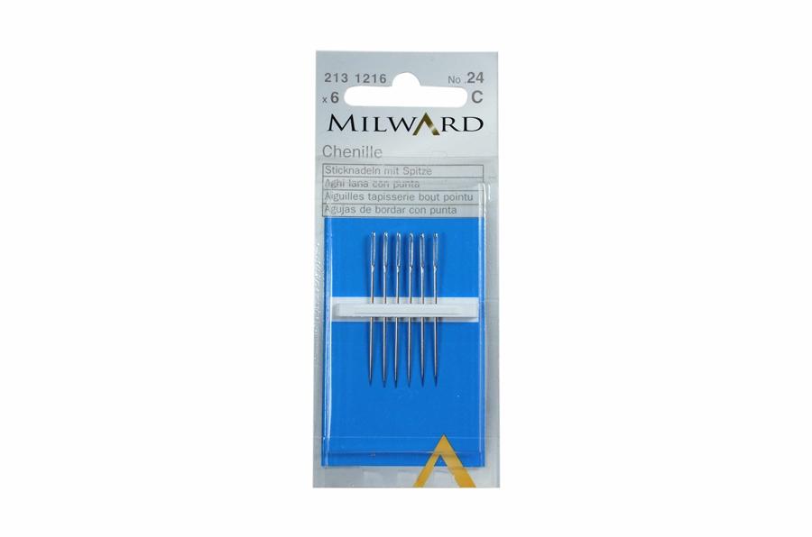 Milward Çelik Kurdele Nakışı İğnesi No:24