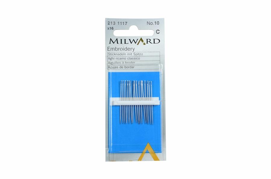 Milward Çelik Nakış İğnesi No:10