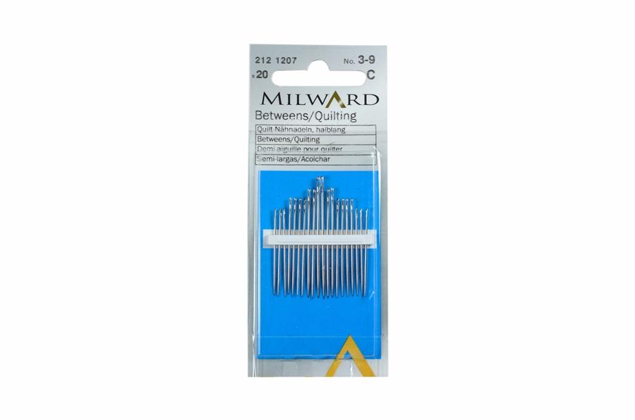 Milward Çelik Orta Boy Dikiş İğnesi No:3-9