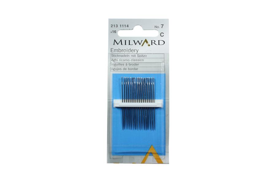 Milward Nakış İğnesi No:7