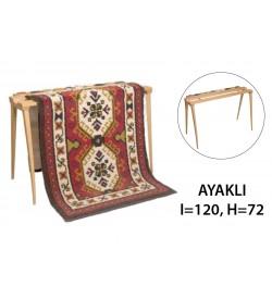 Şirin Kasnak Anadolu Dokuma Tezgahı Ayaklı 120 cm