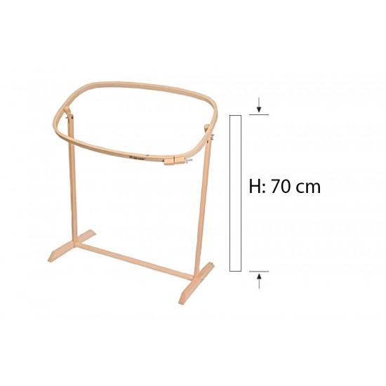 Şirin Kasnak Ayaklı,Sütunlu Oval Kasnak 214 50 cm