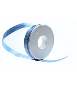 İyiki Doğdun Desenli 1cm Mavi Kurdele