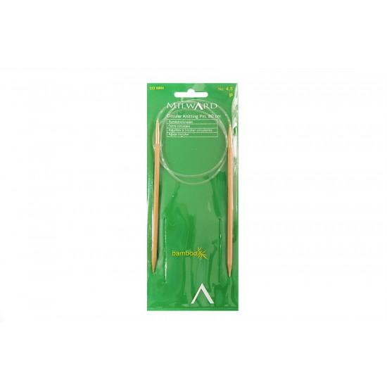 Milward Misinalı Şiş Bambu 80cm 4.5 mm