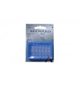 Milward Beyaz Çıt Çıt Plastik