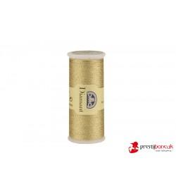 DMC Diamant El Nakış Simi - Açık Altın - D3821