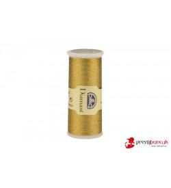 DMC Diamant El Nakış Simi - Koyu Altın - D3852