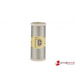 DMC Diamant El Nakış Simi - Koyu Gümüş - D415