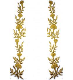 Sim Aplik Çifti Sarı 06