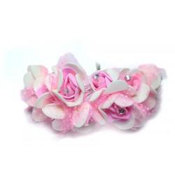 12'li Pembe Çiçek Demeti  KCD01