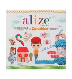 Alize Puffy ile Çocuklar Örüyor Dergisi 25.Sayı