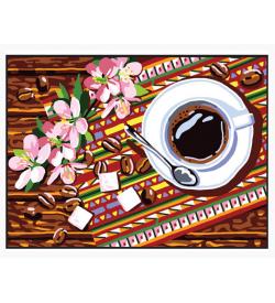 Kahve Fincanı Goblen Seti