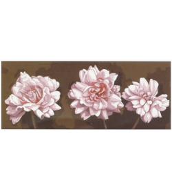 Beyaz Çiçekler Goblen Seti