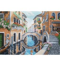 Colection D'art Kanaviçe Seti Venedik Sokaklarında PA0527