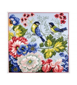 Colection D'art Kanaviçe Seti Kuş PA0953