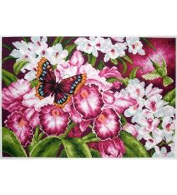 Colection D'art Kanaviçe Seti Orkide PA1138