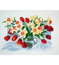 Colection D'art Kanaviçe Seti Bahar Çiçekleri PA1226