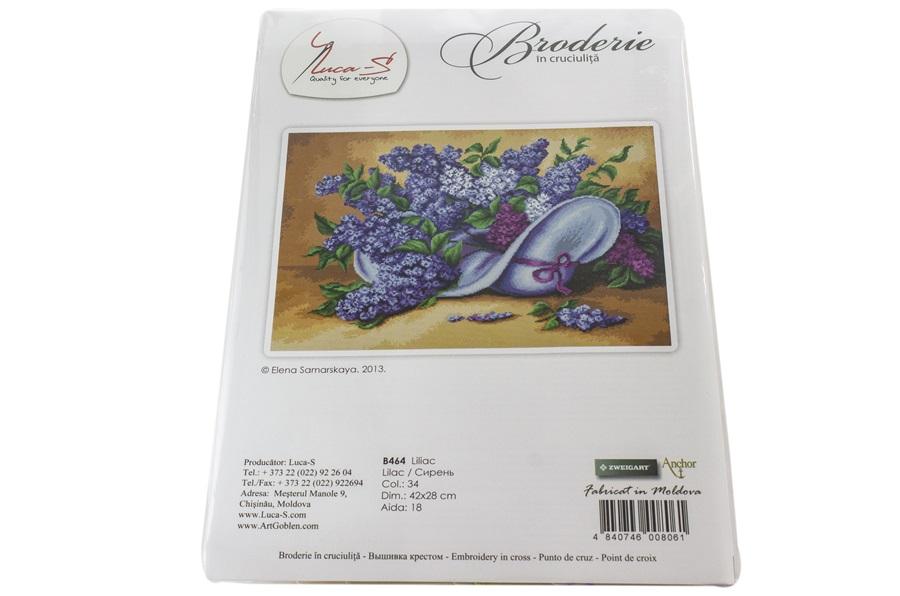 Leylak Çiçeği Nakış Seti -B464