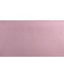 Domino Etamin Nakış Kumaşı 11 ct Pudra Pembe