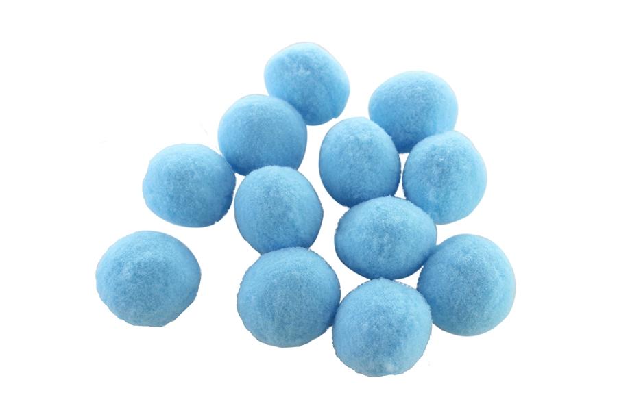 Mavi Renkli Ponpon