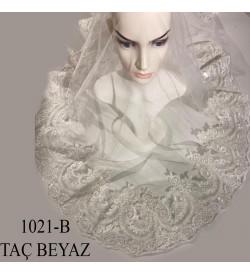 Duvak Taç Beyaz 1021-B