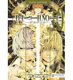Death Note - Ölüm Defteri 10 Tsugumi Ooba Akılçelen Kitaplar