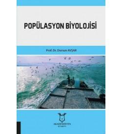 Popülasyon Biyolojisi Dursun Avşar Akademisyen Kitabevi