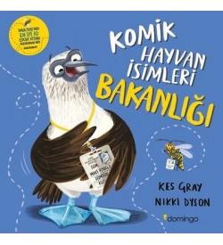 Komik Hayvan İsimleri Bakanlığı Kes Gray , Nikki Dyson Domingo Yayınevi
