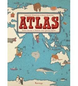 Atlas: Kıtalar-Denizler-Kültürler Arası Yolculuk Rehberi Daniel Mizielinska, Aleksandra Mizielinska Domingo Yayınevi