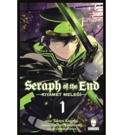Seraph of the End-Kıyamet Meleği Cilt 1 Takaya Kagami Kurukafa
