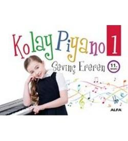 Kolay Piyano Sevinç Ereren Alfa Yayıncılık