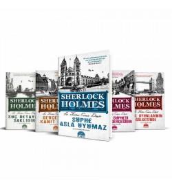 Sherlock Holmes 5 Kitap Set - Sir Arthur Conan Doyle Martı Yayınları