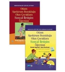Otizm Spektrum Bozukluğu Olan Çocuklara Sosyal İletişim Öğretimi Seti-2 Kitap Kolektif Nobel Akademik Yayıncılık