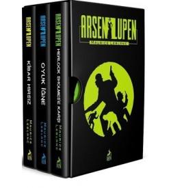 Arsen Lüpen Seti-3 Kitap Takım Maurice Leblanc Ren Kitap