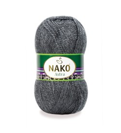 Nako Astra Koyu Gri Melanj 193