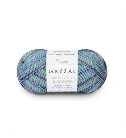 Gazzal Baby Cotton Rainbow 484