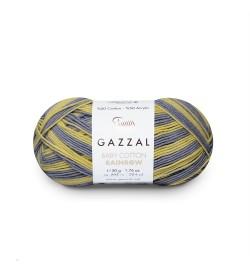 Gazzal Baby Cotton Rainbow 479