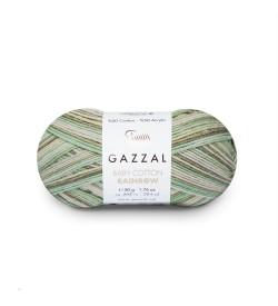 Gazzal Baby Cotton Rainbow 477