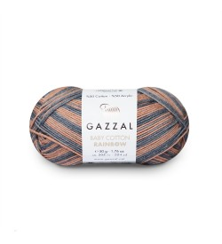 Gazzal Baby Cotton Rainbow 486