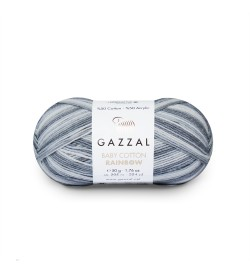 Gazzal Baby Cotton Rainbow 476