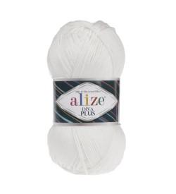 Alize Diva Plus Beyaz 1055
