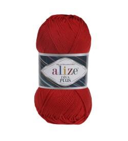 Alize Diva Plus Kırmızı 056
