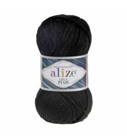 Alize Diva Plus Siyah 060