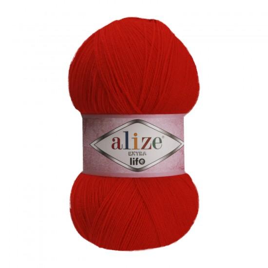 Alize Extra Life Kırmızı 926