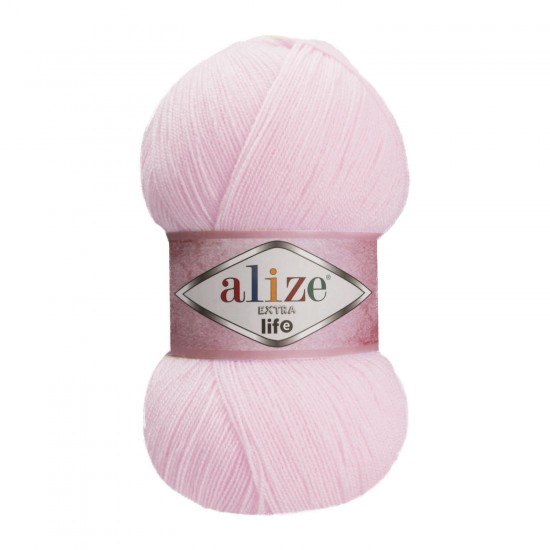 Alize Extra Life Pudra Pembe 929