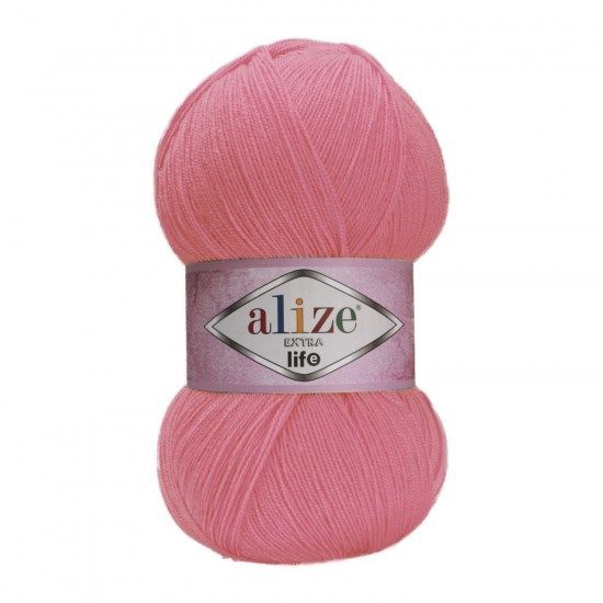 Alize Extra Life Mercan Pembe 930