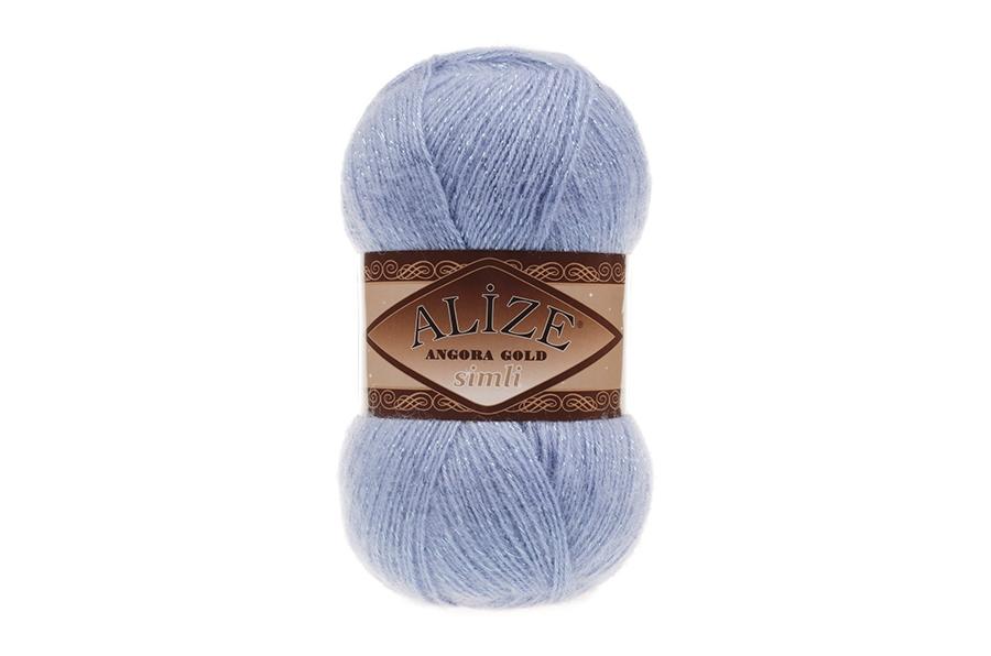 Alize Angora Gold Simli Mavi-40