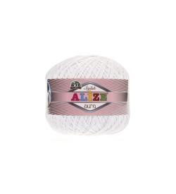 Alize Aura Beyaz 55