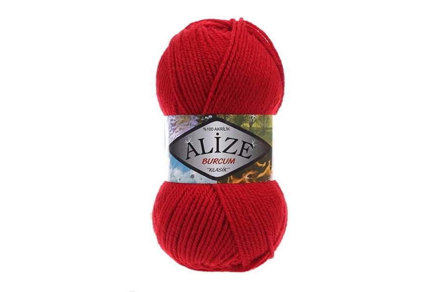 Alize Burcum Klasik Kırmızı-106