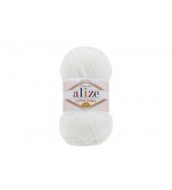 Alize Cotton Baby Soft Beyaz-55